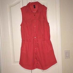 Windsor dress w/ drawstrings & pockets